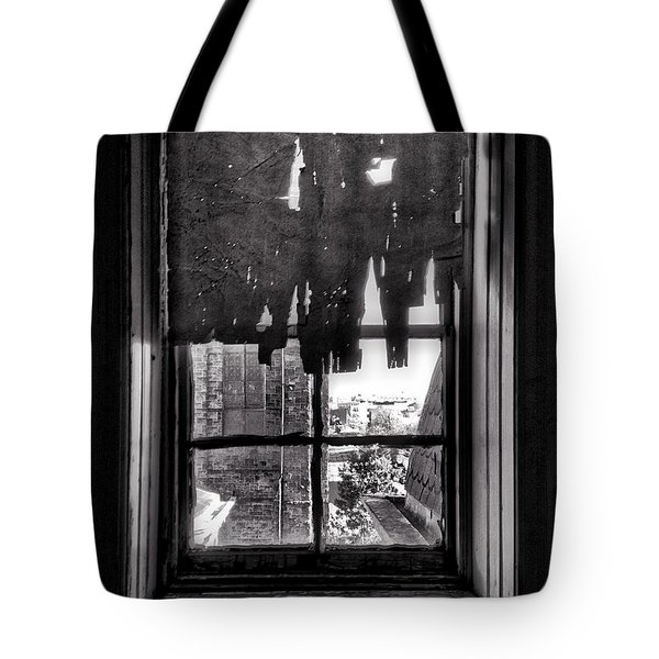 Abandoned Window Tote Bag