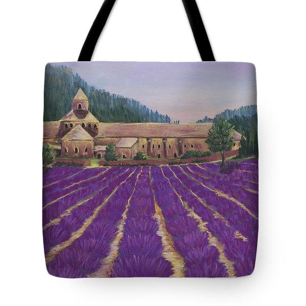 Abbaye Notre-dame De Senanque Tote Bag