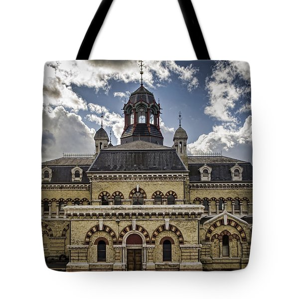 Abbey Mills Pumping Station Tote Bag by Heather Applegate