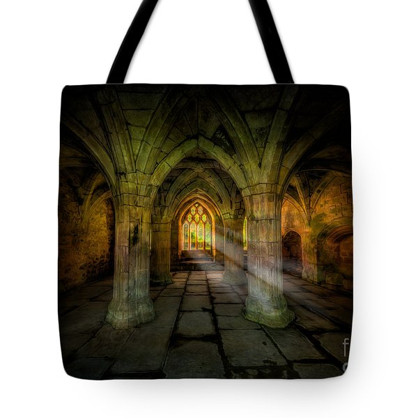 Abbey Sunlight Tote Bag by Adrian Evans