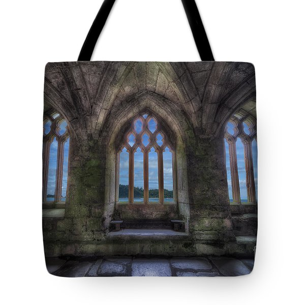 Abbey View Tote Bag by Adrian Evans