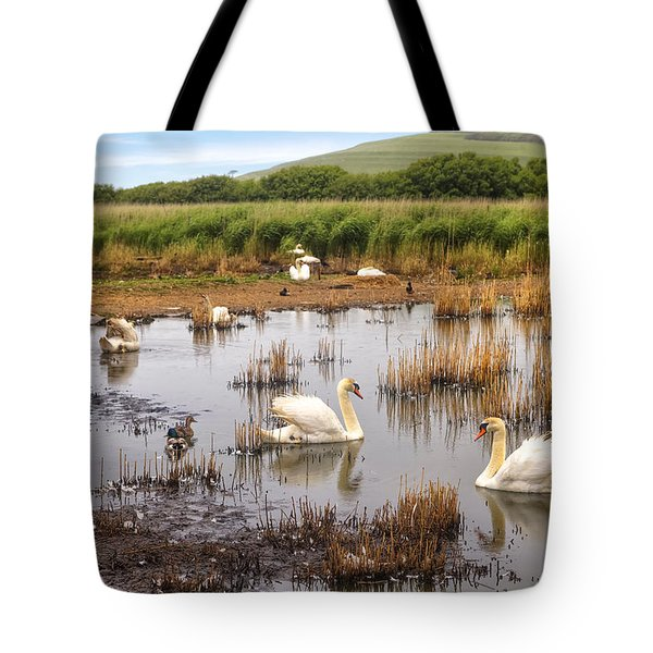 Abbotsbury Swannery Tote Bag