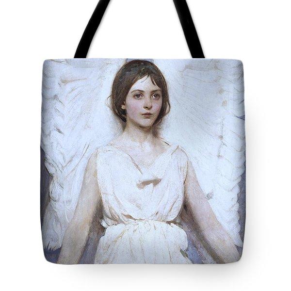 Abbott Handerson Thayer Angel 1886 Tote Bag
