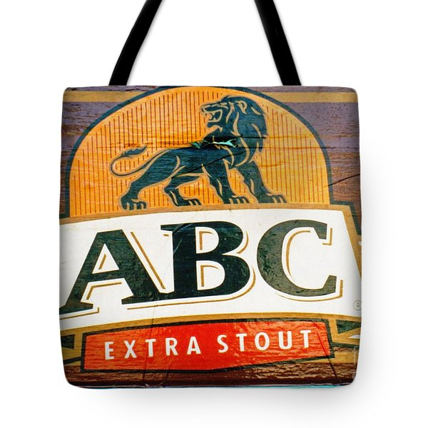 Abc Stout Tote Bag