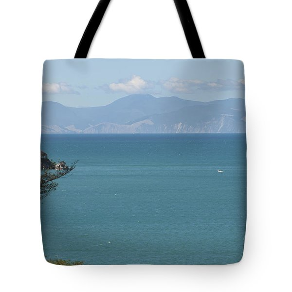 Abel Tasman Split Apple Bay New Zealand Tote Bag