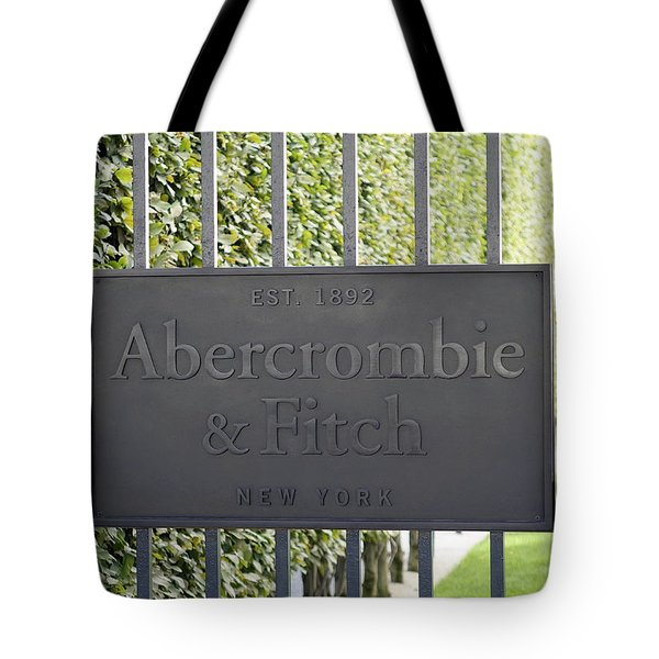 Abercrombie And Fitch Store In Paris France Tote Bag