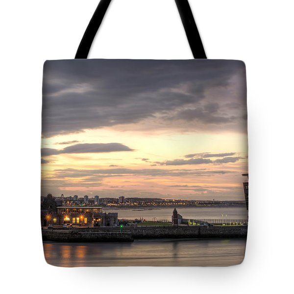 Aberdeen At Dusk Tote Bag