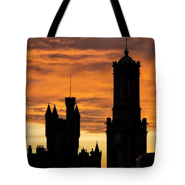 Aberdeen Silhouettes Tote Bag