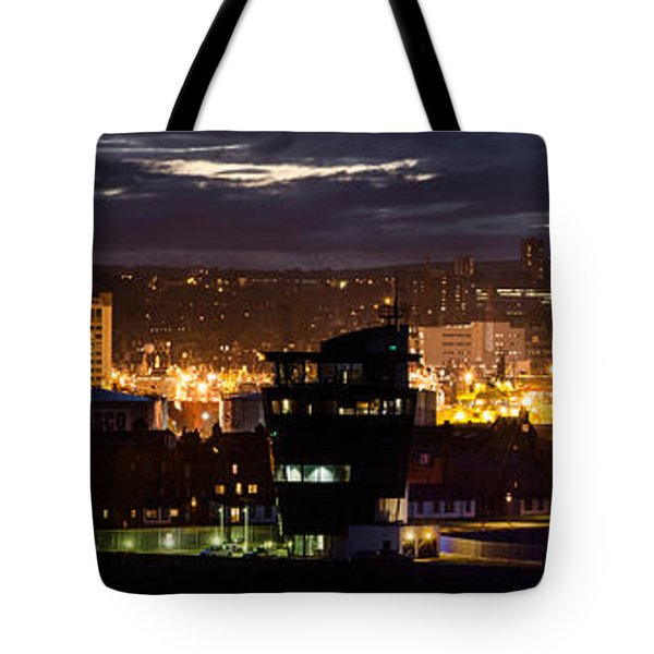 Aberdeen Skyline Tote Bag