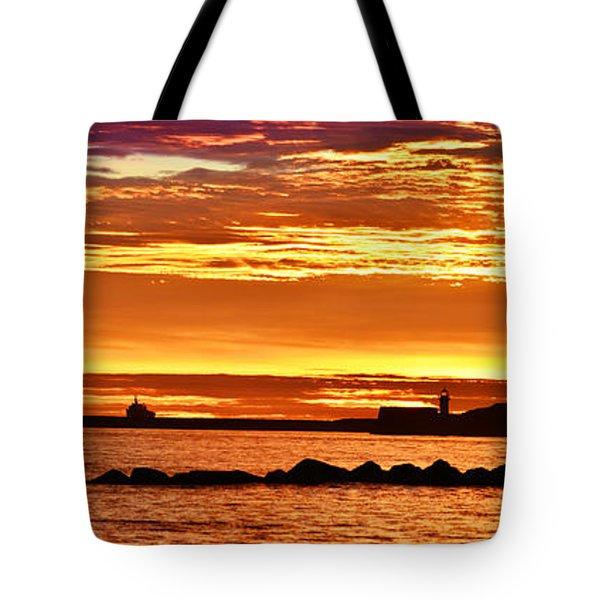Aberdeen Sunrise Tote Bag