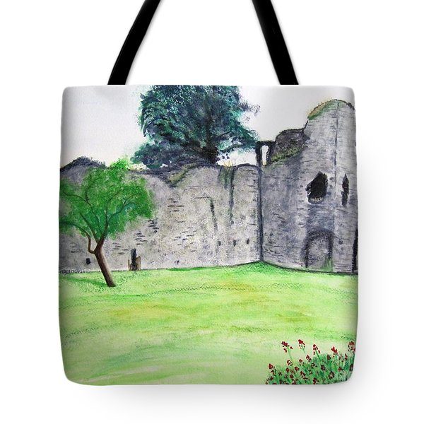 Abergavenny Castle Tote Bag