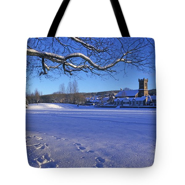 Aberlour Winter Tote Bag by Phil Banks