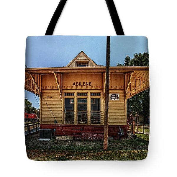 Abilene Station Tote Bag