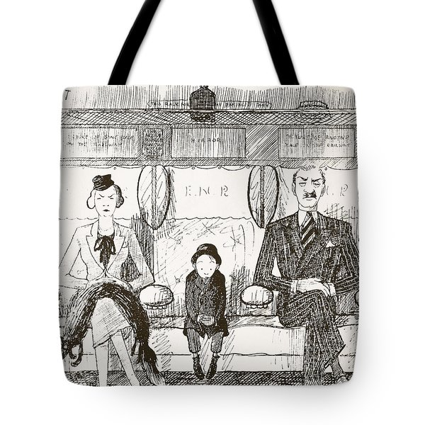 Ability To Be Ruthless, Illustration Tote Bag