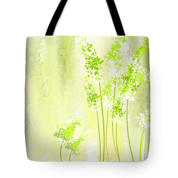 About Spring Tote Bag by Lourry Legarde