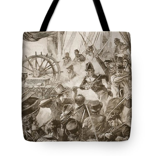 About Thirty Of The Crew Made A Small Tote Bag