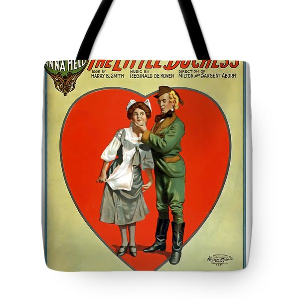 About To Be Kissed Tote Bag by Terry Reynoldson