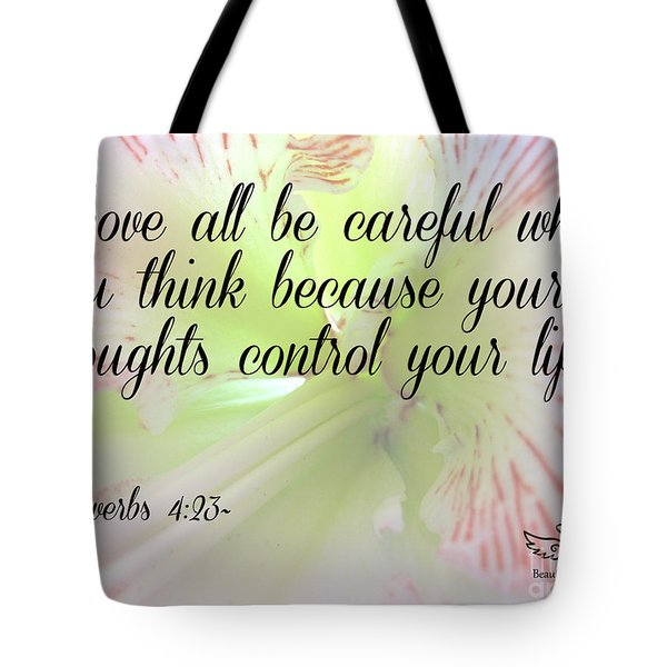 Above All Tote Bag
