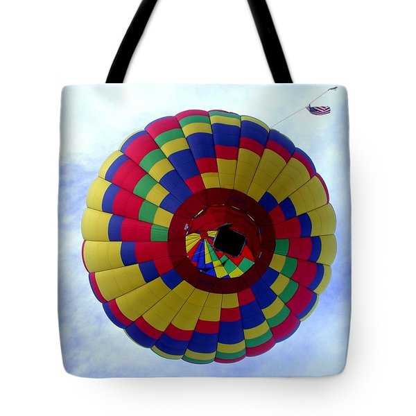 Above And Beyond Tote Bag