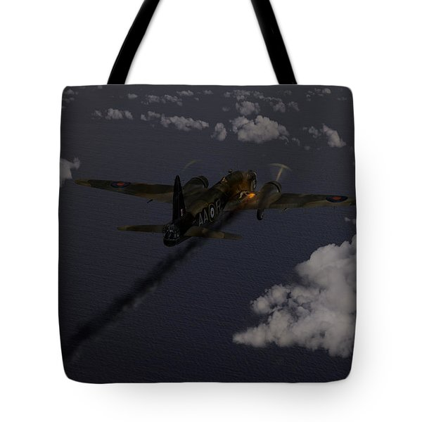 Above And Beyond - Jimmy Ward Vc Tote Bag by Gary Eason