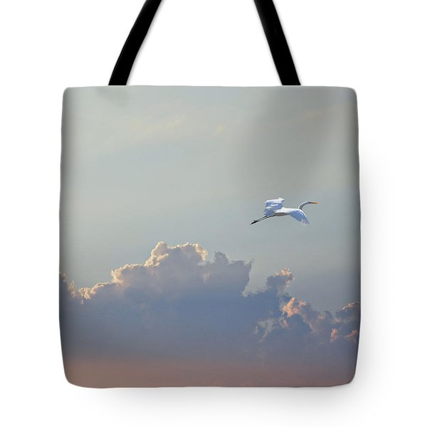 Above It All Tote Bag by Adele Moscaritolo
