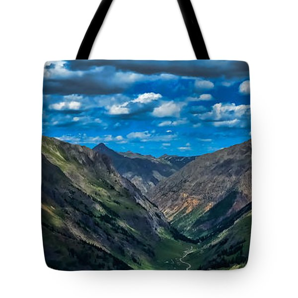 Tote Bag featuring the photograph Above It All by Don Schwartz