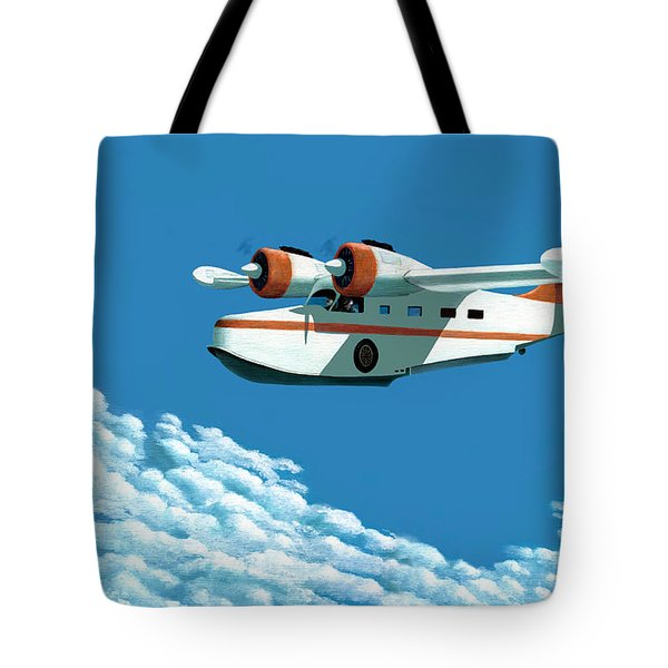 Above It All  The Grumman Goose Tote Bag