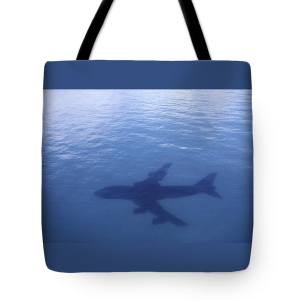 Above Mean Sea Level Tote Bag by Daniel Furon