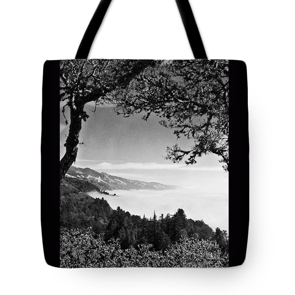 Above Nepenthe In Big Sur Tote Bag by Joseph J Stevens