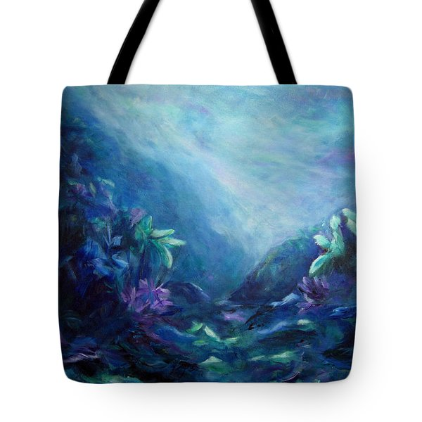 Above Or Below Tote Bag
