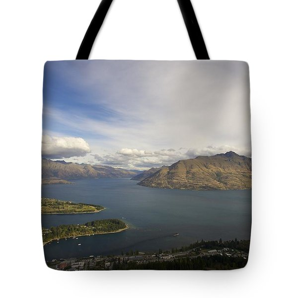 Above Queenstown #2 Tote Bag