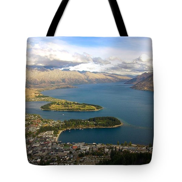 Above Queenstown Tote Bag