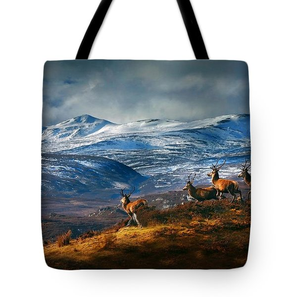 Above Strathglass Tote Bag