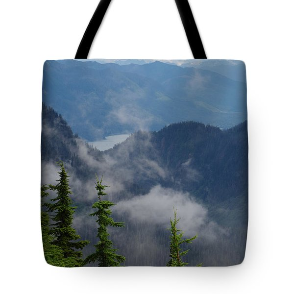 Above The Cloud Tote Bag