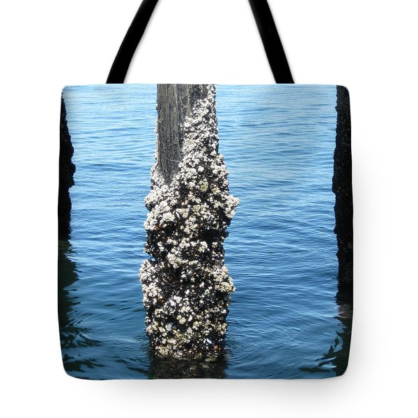 Above The Line Tote Bag