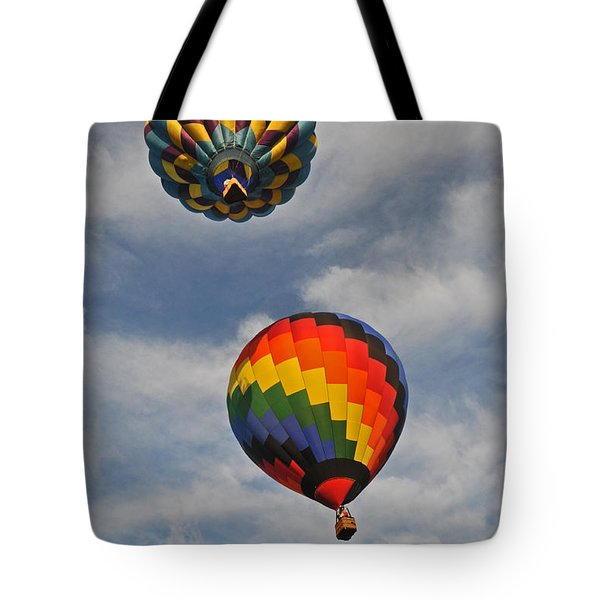 Above The Treetop Tote Bag by Mike Martin