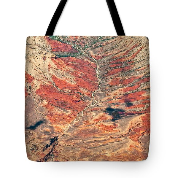 Tote Bag featuring the digital art Above Timber Line by Mae Wertz