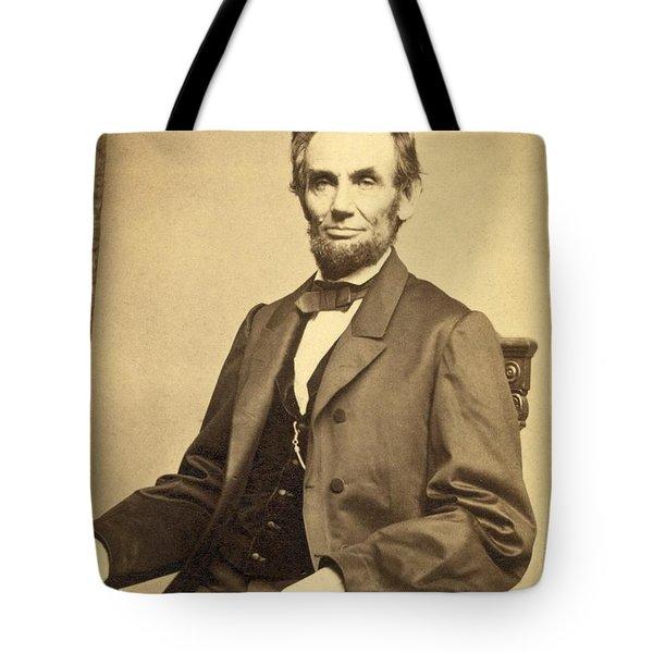 Abraham Lincoln 16th President Tote Bag