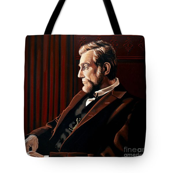 Abraham Lincoln By Daniel Day-lewis Tote Bag