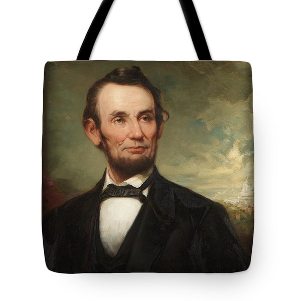 Abraham Lincoln  Tote Bag by George Henry Story