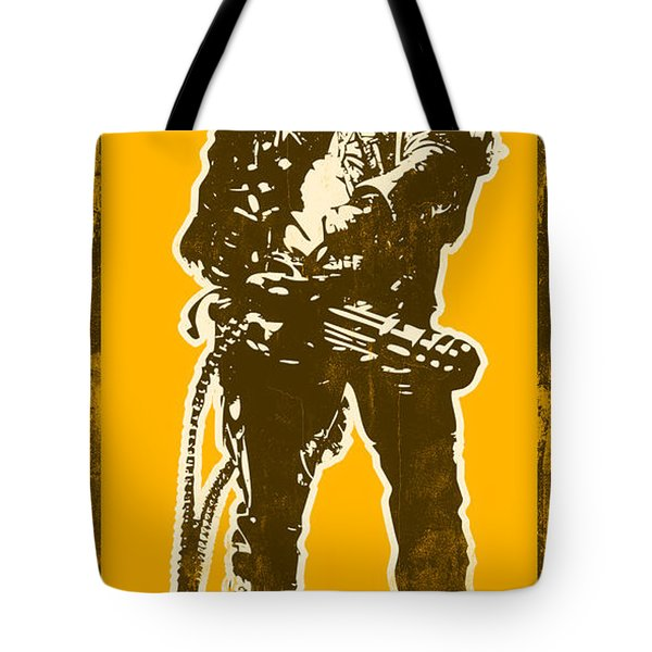 Abraham Lincoln - The First Badass Tote Bag by Pixel Chimp
