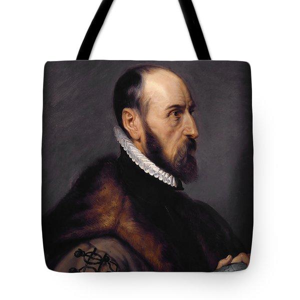 Abraham Ortelius Tote Bag