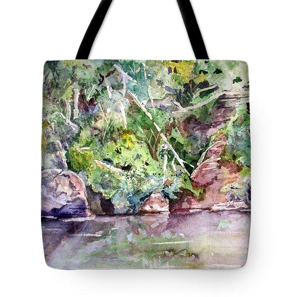 Abram's Creek Tote Bag