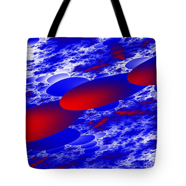 Tote Bag featuring the digital art Fly Away by Hai Pham