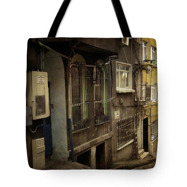 Absence 16.37 Tote Bag by Taylan Apukovska