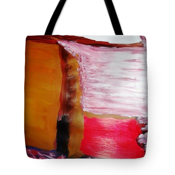 Absence Tote Bag by Fatiha Boudar