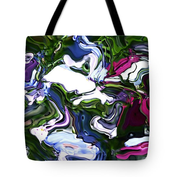 Tote Bag featuring the digital art Absent by Richard Thomas