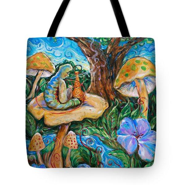 Absolem From Wonderland Tote Bag