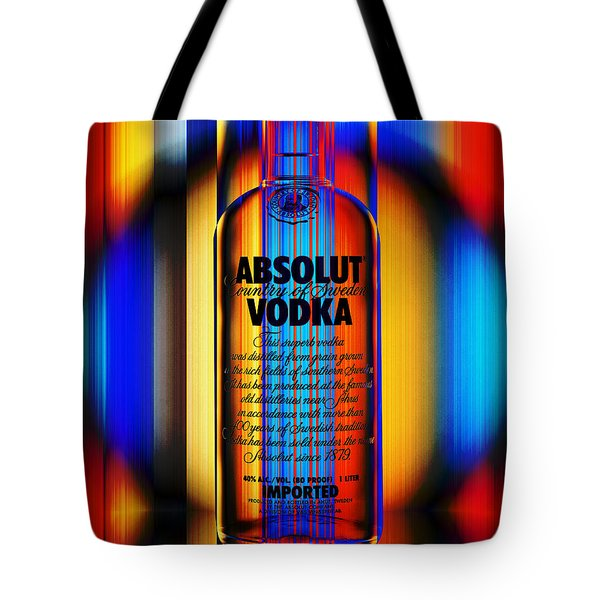 Absolut Abstract Tote Bag by Chuck Staley
