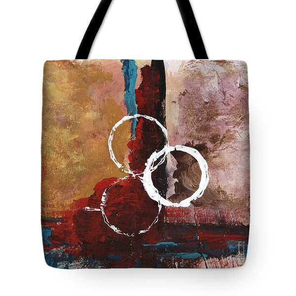 Tote Bag featuring the painting Abstract 10 by Alga Washington